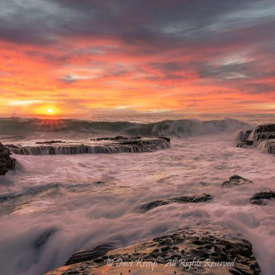 Durras Sunrise by Dave Kemp