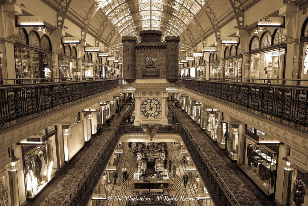 QVB Gallery by Phil Warbuton