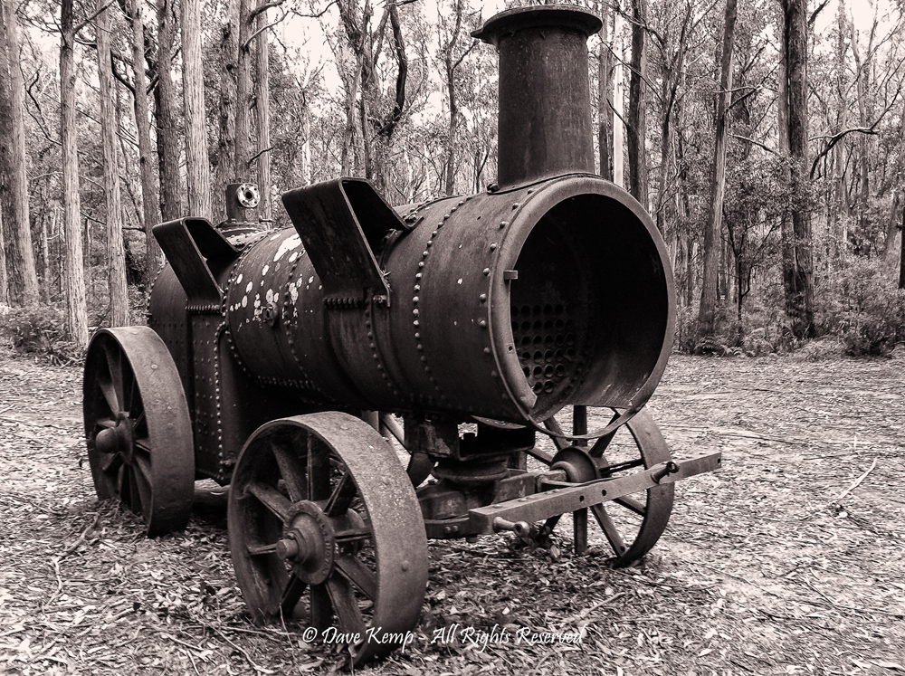 Run out of Steam by Dave Kemp
