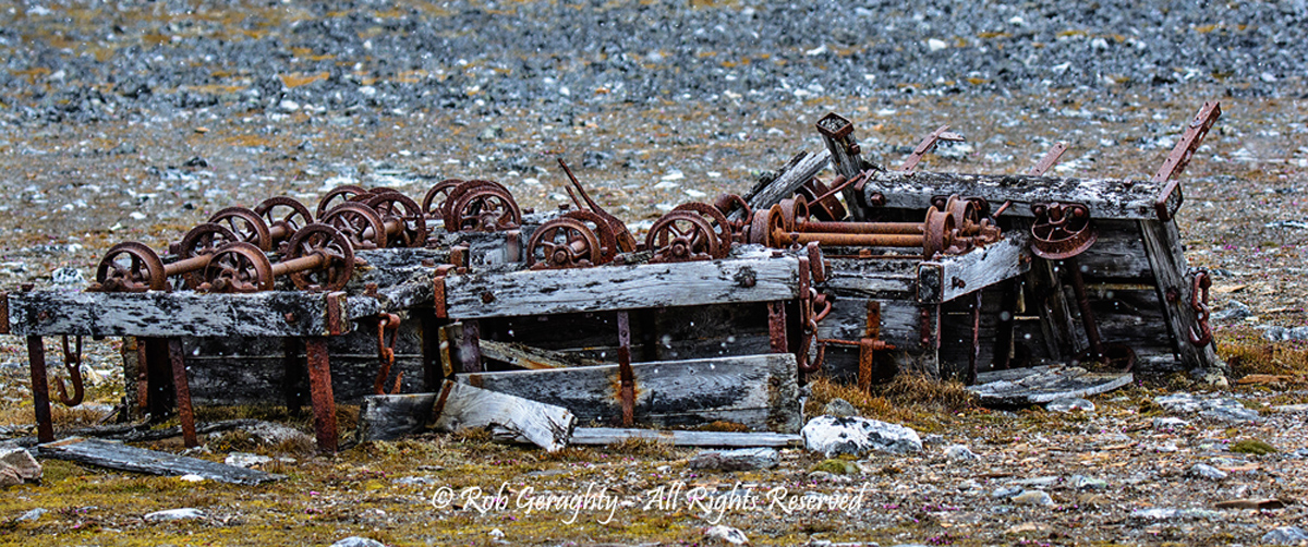 Rusty Wheels by Rob Geraghty