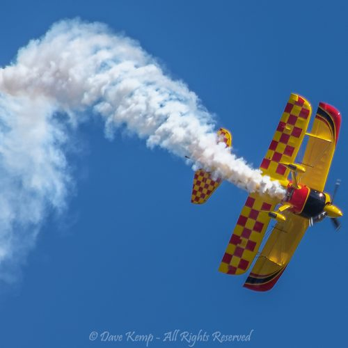 Smokey Acrobatics by Dave Kemp