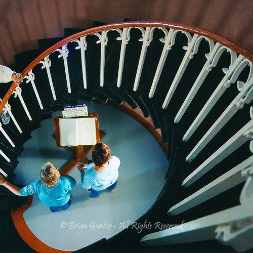 Spiral Staircase by Brian Gunter