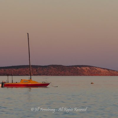 Twilight on Dirk Hartog Island by Jill Armstrong