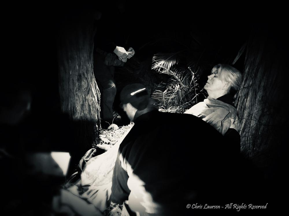 Drama in the dark - Chris Laursen