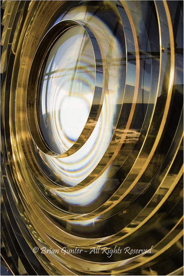 Lighthouse Lens by Brian Gunter