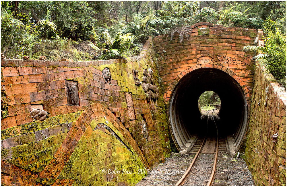 Tunnel vision by Colin Pass