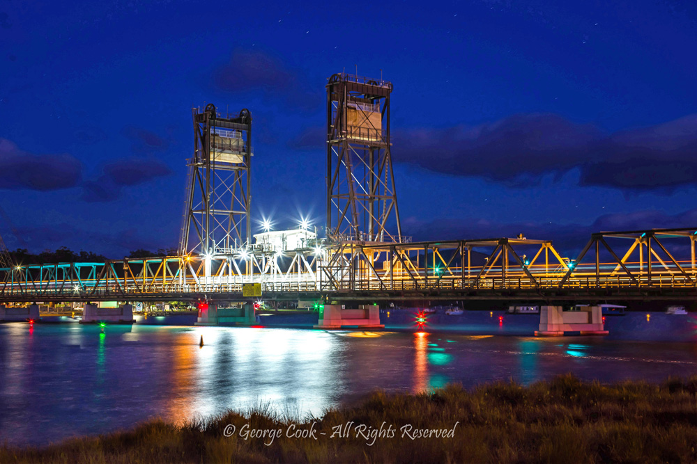 Bay Bridge by George Cook