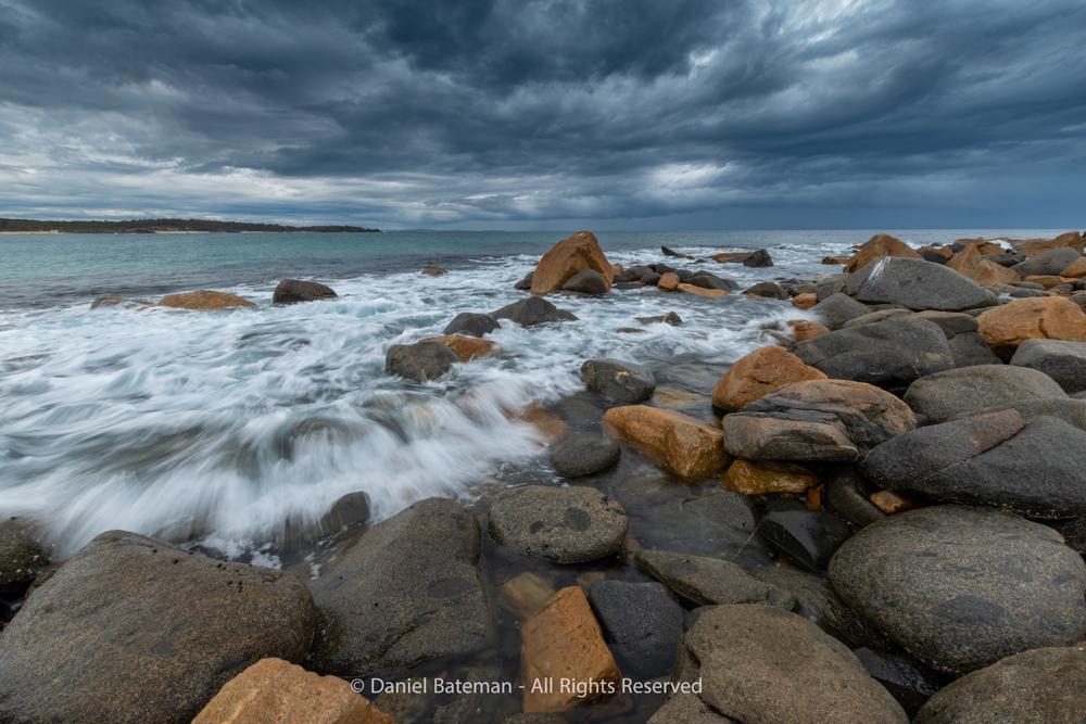 A Storm at Sea by Daniel Bateman