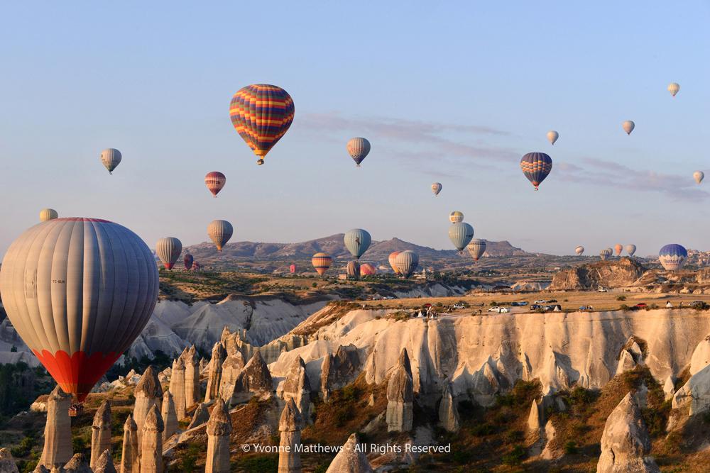 Cappadocia by Yvonne Matthews