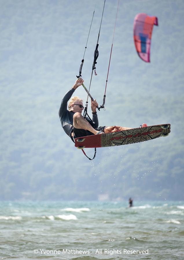 Kiteboarding Turkey by Yvonne Matthews