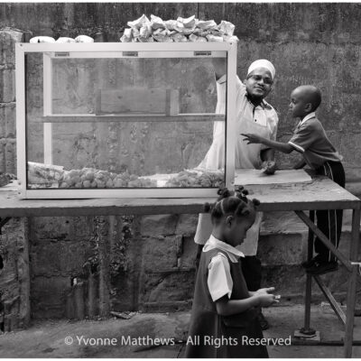 Morning Tea Zanzibar by Yvonne Matthews