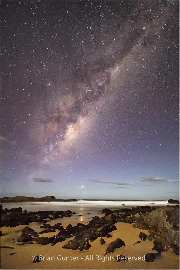Mystery Bay Nightscape by Brian Gunter